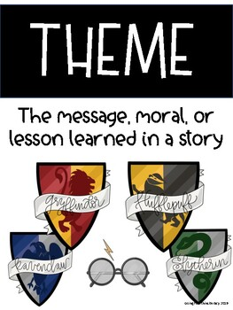 Reading Comprehension Posters - Harry Potter Themed
