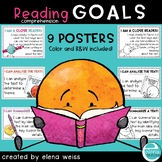 Reading Comprehension Posters: I CAN
