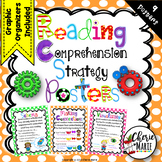 Reading Comprehension Strategies Posters Graphic Organizer