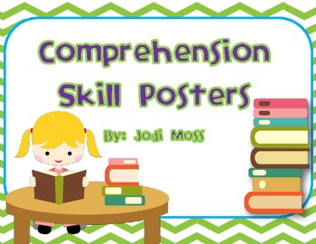 Reading Comprehension Posters Refer to These all Year Long!
