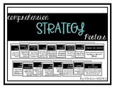 Reading Comprehension Posters - Simple Black and White