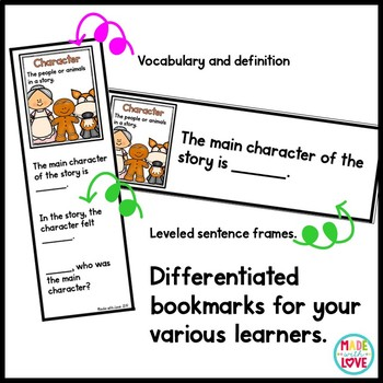 Reading Comprehension Posters and Bookmarks Bundle