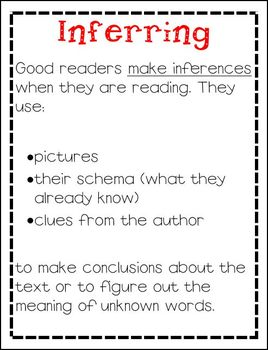 Reading Comprehension Posters and Reflecting Sheets