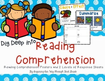 Reading Skills & Comprehension Posters and Differentiatd R