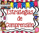 Reading Comprehension Posters in Spanish
