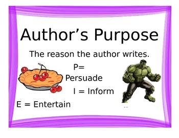 Reading Comprehension Posters with Hulk