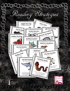 Reading & Comprehension Posters (with Melonheadz Graphics!)