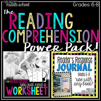 Reading Comprehension Activities Power Pack