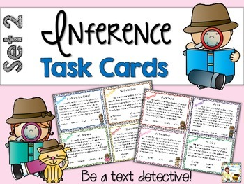 Inference Task Cards - Set 2