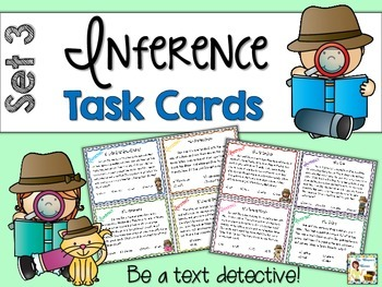 Inference Task Cards - Set 3