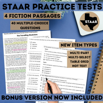 Staar Fiction Reading Passages By Custom Classroom By