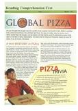 Reading Comprehension Test - Global Pizza