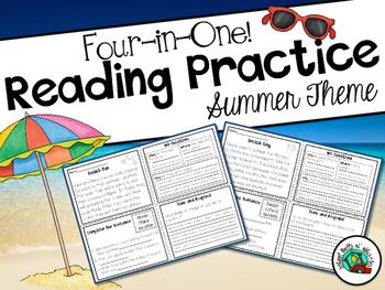 Reading Comprehension Practice / Summer