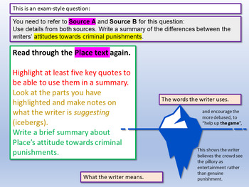 Reading Comprehension Practice / Understanding Writers' Perspectives
