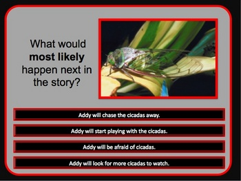 Reading Comprehension Practice and Test Prep -Story and questions