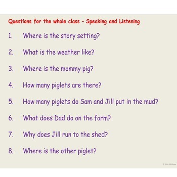 Reading Comprehension, Presentation, Punctuation, Contractions, Speech Marks