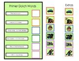 Reading Comprehension Primer Dolch Words