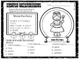 Reading Comprehension Printable