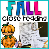 Fall Close Reading