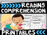 Reading Comprehension Worksheets/Printables for Any Book (1st, 2nd, & 3rd)