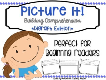 Reading Comprehension Printables Digraph Edition