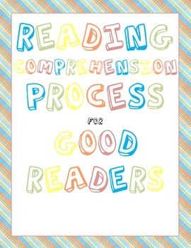 Reading Comprehension Process Poster Pack