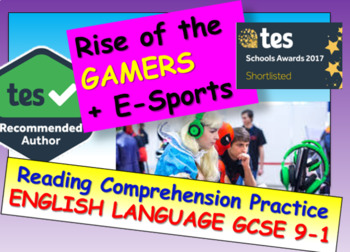 Reading Comprehension: Professional Gamers and e-Sports