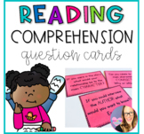 Reading Comprehension Question Cards for Any Book