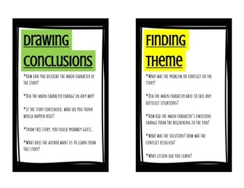 Reading Comprehension Question Set