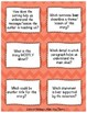 Reading Comprehension Question Stem Cards: Literary and Informational