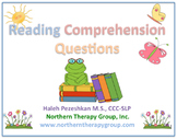 Reading Comprehension Questions