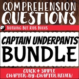 Distance Learning Comprehension Questions Bundle   Captain