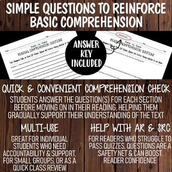 Reading Comprehension Questions Discount Bundle   Deckawoo Drive