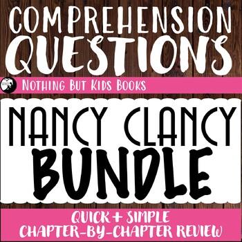 Reading Comprehension Questions Discount Bundle | Nancy Clancy