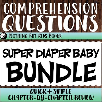 Reading Comprehension Questions Discount Bundle | Super Diaper Baby