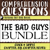 Distance Learning Comprehension Questions Bundle   The Bad Guys