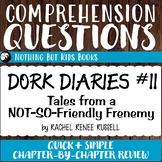 Reading Comprehension Questions | Dork Diaries #11