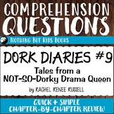 Reading Comprehension Questions | Dork Diaries #9