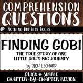 Reading Comprehension Questions   Finding Gobi
