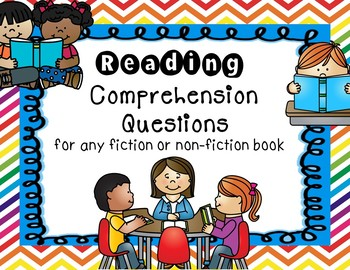 Reading Comprehension Questions For Any Book