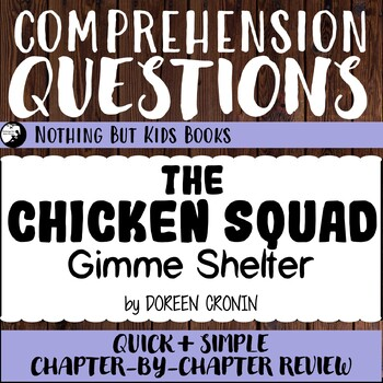 Reading Comprehension Questions | Gimme Shelter