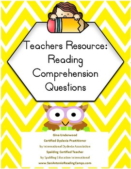 Reading Comprehension Questions & Guide