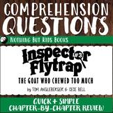 Reading Comprehension Questions | Inspector Flytrap #3