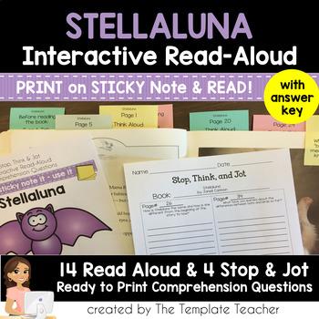Halloween Interactive Read Aloud with Stellaluna