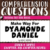 Reading Comprehension Questions   Make Way for Dyamonde Daniel