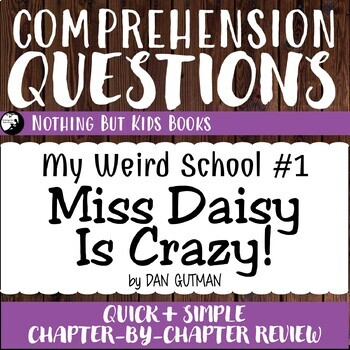 Reading Comprehension Questions | Miss Daisy is Crazy!