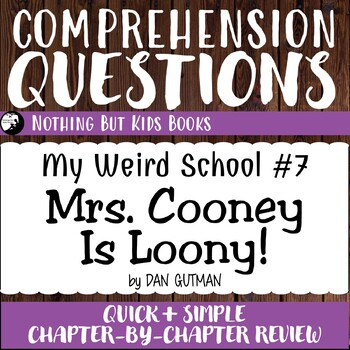Reading Comprehension Questions | Mrs. Cooney Is Loony!