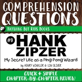 Reading Comprehension Questions | My Secret Life as a Ping-Pong Wizard