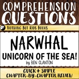 Reading Comprehension Questions | Narwhal, Unicorn of the Sea