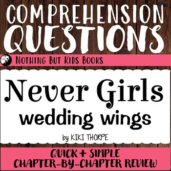 Reading Comprehension Questions | Never Girls #5 Wedding Wings